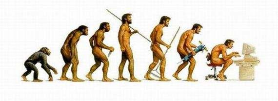 人类跟随互联网的发展