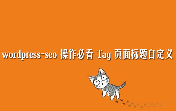 WordPress-seo优化操作:Tag页面标题自定义以及调用Tag描述