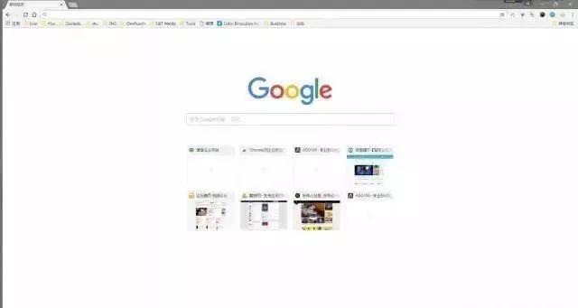 google 界面