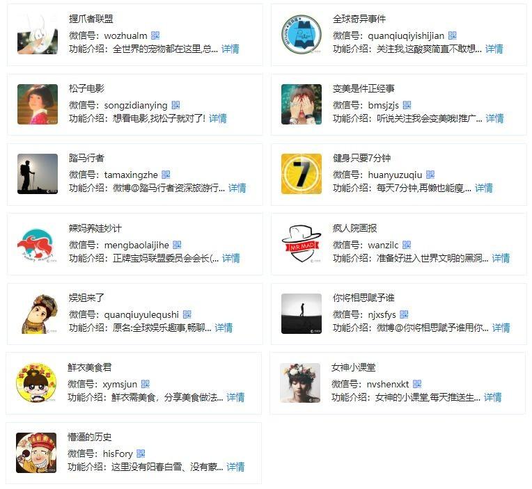 瑞智华胜旗下有 20 个微博账号,55 个微信公众号