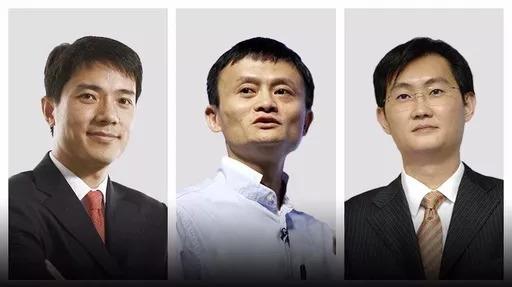 马云,马化腾,李彦宏