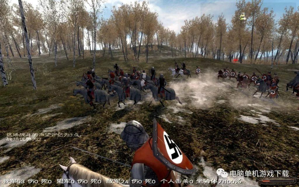 【单机游戏下载】骑马与砍杀:火与剑——ARPG