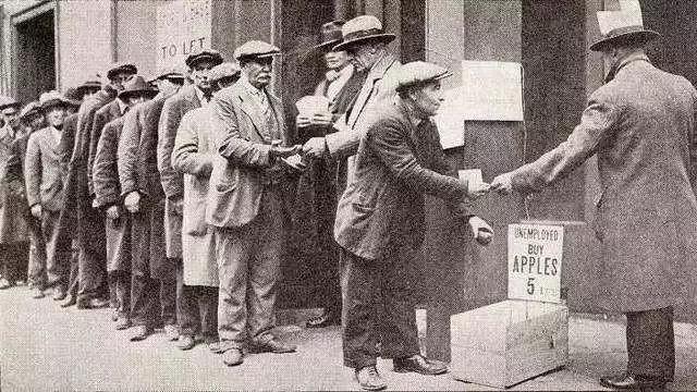 美国经济大萧条时代