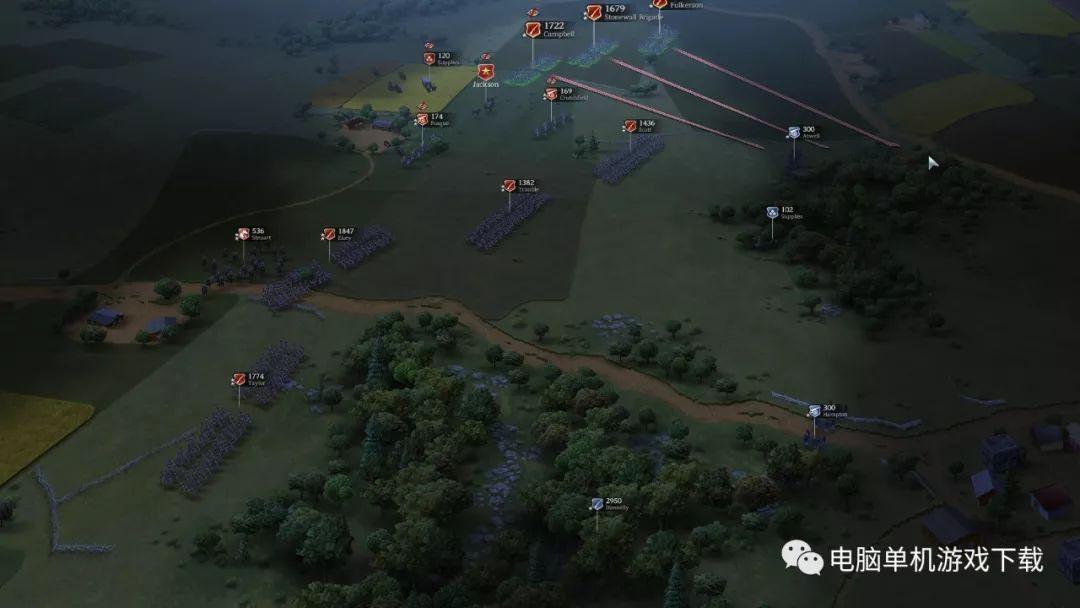 【单机游戏下载】终极将军:内战——策略战棋类(SLG)游戏