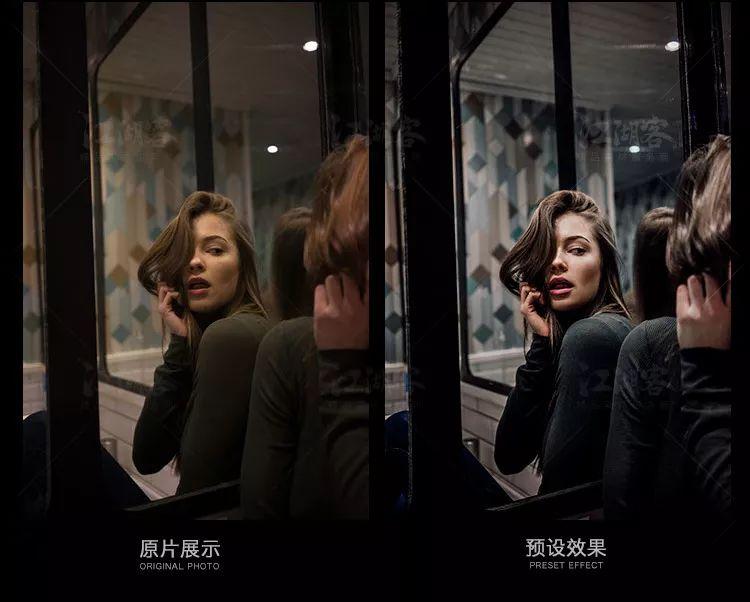 人像预设滤镜复古风电影胶片lightroom预设ACR欧美调色滤镜
