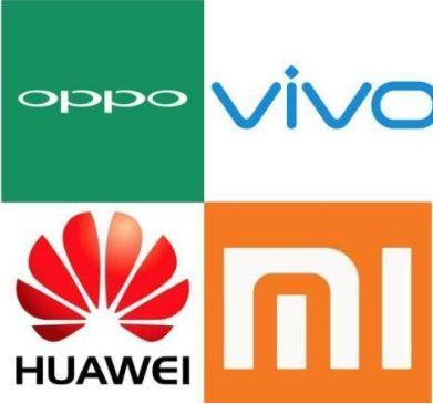 中国手机行业三大四大品牌
