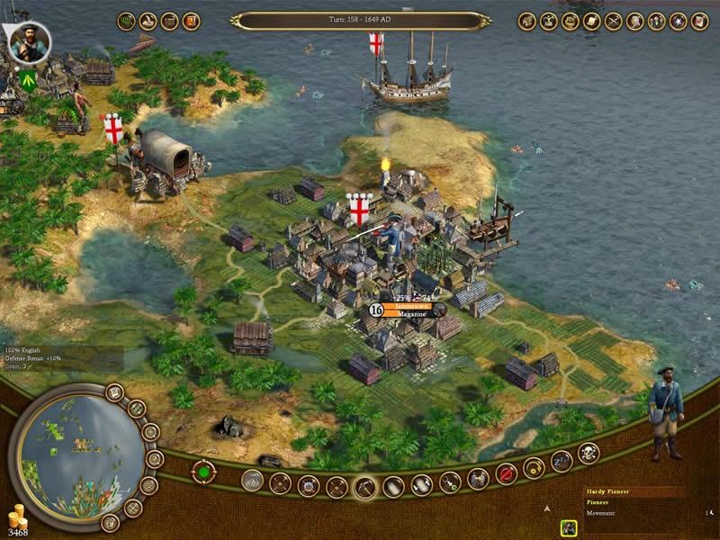【单机游戏下载】文明4 :殖民统治——模拟经营