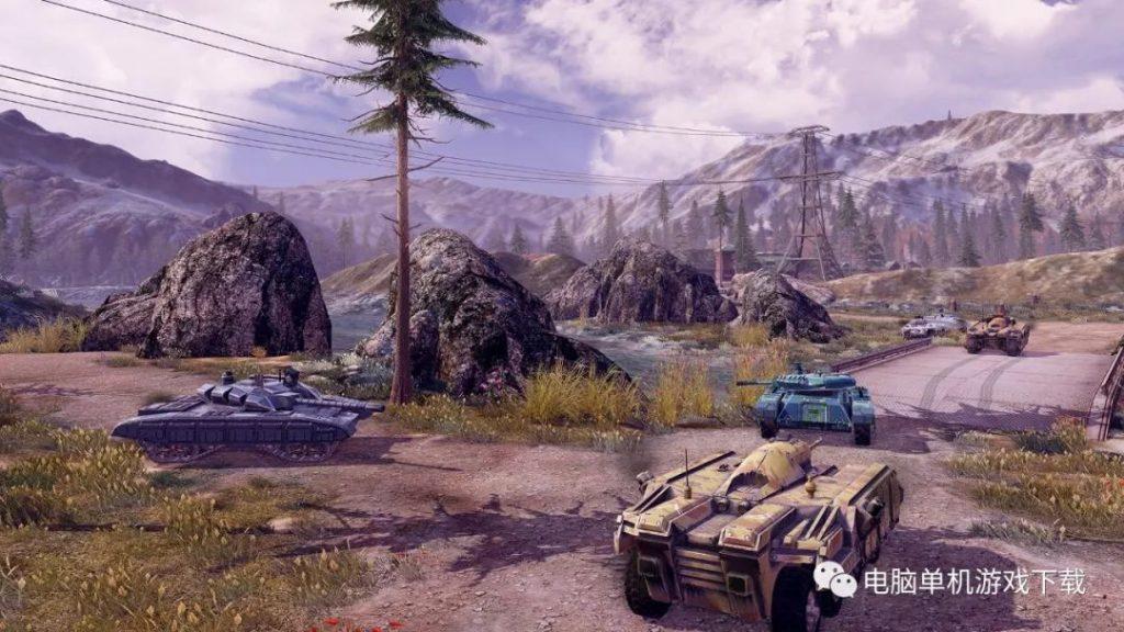 【单机游戏下载】无限坦克——射击类(STG)游戏