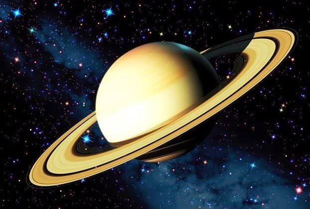 土星环是太空的戒指