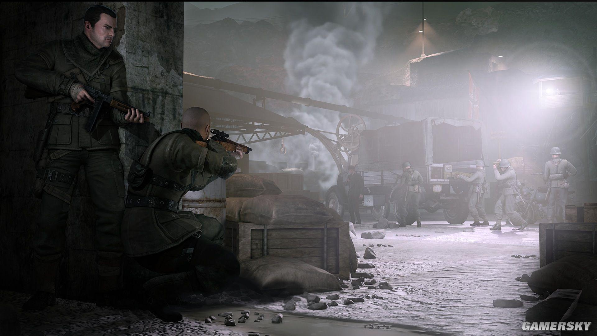 【单机游戏下载】PC正版steam二战游戏 狙击精英V2 云盘免安装中文版