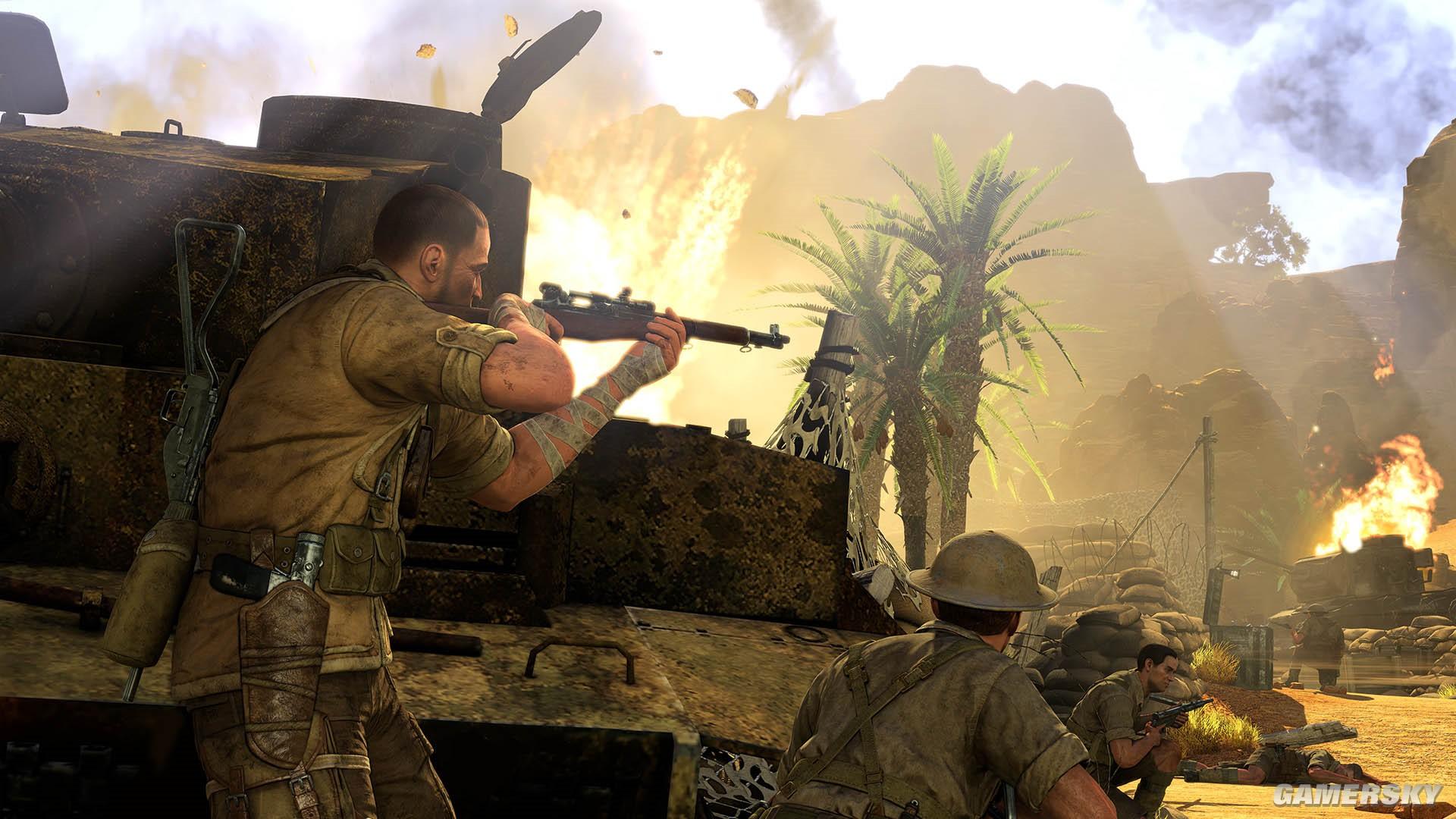 【单机游戏下载】二战4DLC射击枪战类 狙击精英3 绿色中文网盘版